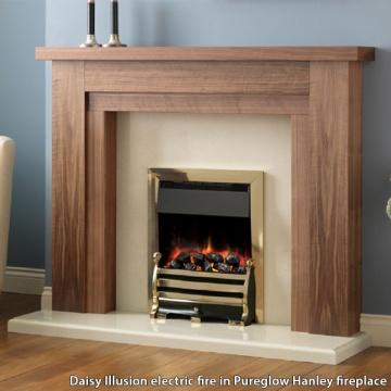 Pureglow Daisy Illusion Electric Fire Flames Co Uk